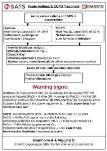 SATS - EMSS15 - Acute Asthma & COPD Treatment